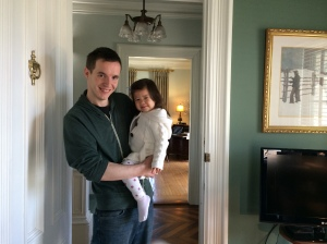 Nick with his beautiful daughter Lilly